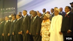 At least 47 African leaders attended the US-Africa Leaders Summit. African Union Commission chairperson Nkosazana Dlamini-Zuma also attended the summit. (Photo: VOA - Gibbs Dube).