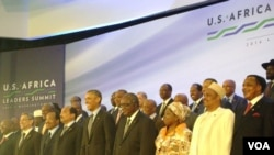 At least 47 African leaders attended the US-Africa Leaders Summit. African Union Commission chairperson Nkosazana Dlamini-Zuma also attended the summit. (Photo: VOA).