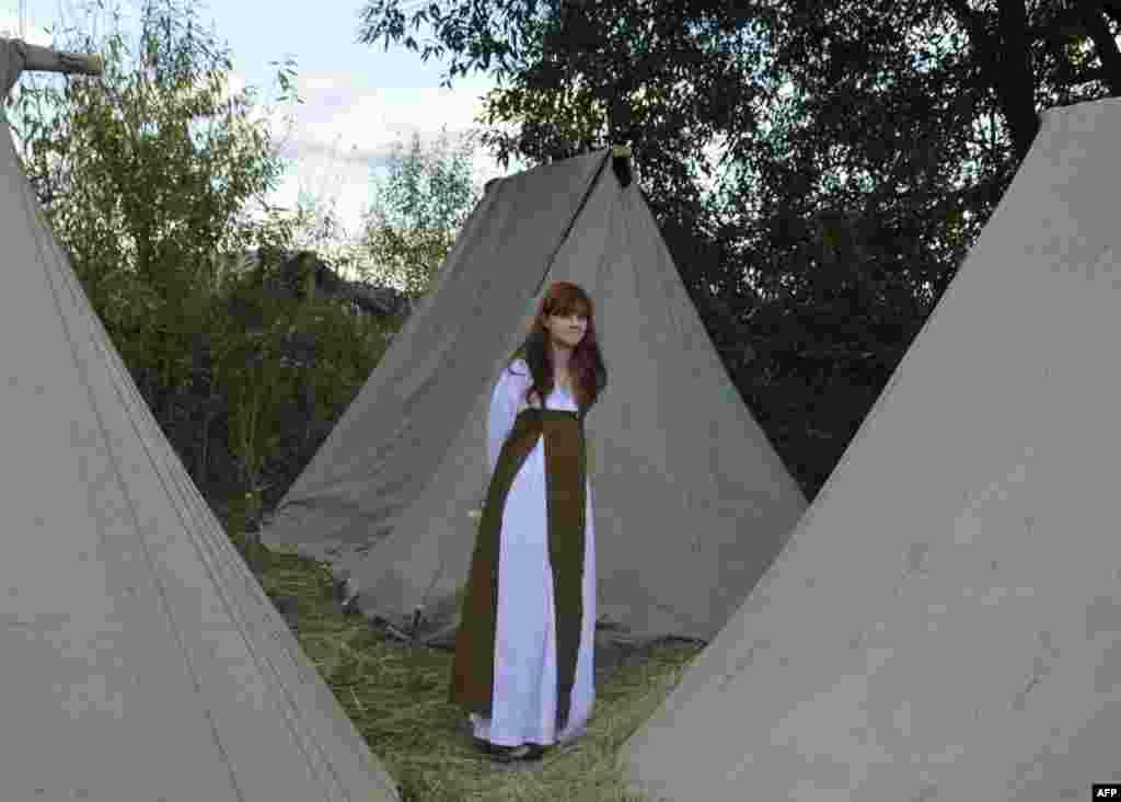 В лагере славян