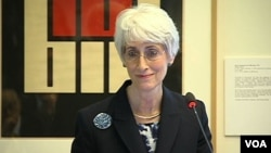 U.S. Under Secretary for Political Affairs Wendy Sherman discusses Western Hemisphere electricity integration at the International Development Bank.