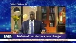 Tshisekedi veut un changement des mentalités