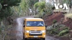 В Чилі школа використовує мікроавтобуси, щоб проводити заняття для дітей у віддалених районах. Відео