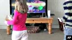 一些互动型电子游戏能使儿童进行激烈运动