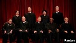 قضات محکمۀ عالی ایالات متحده