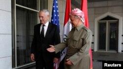 Міністр оборони США Маттіс і президент Барзані