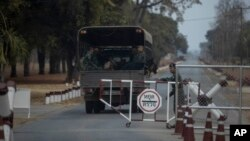 Kamp militer Surathampitak di Nakhon Ratchasima, Thailand, di mana Sersan Mayor Jakrapanth Thomma mencuri amunisi untuk melakukan penembakan massal.