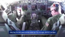 Máy bay do thám Mỹ giới hạn TQ tuần tra Biển Đông