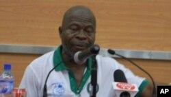James Fromayan, Président de la Commission électorale du Libéria