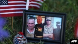 تصاویر چهار تن از نظامیانی که در واقعه تنیسی جان باختند