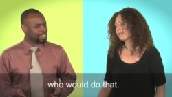 English in a Minute: Two Wrongs Don't Make a Right