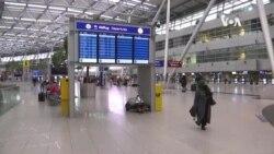 一些國家因新冠變異病毒株禁止與英國的航班