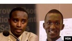 Thierry Uwamahoro na Rene Claude Niyonkuru