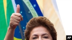 Dilma Rousseff (file photo)