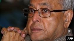 Bộ trưởng Tài chính Ấn Ðộ Pranab Mukherjee