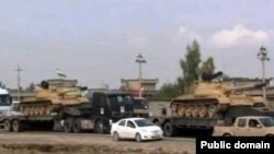 Herêma Kurdistanê hêzên leşkerî dişîne Kerkukê.
