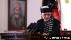 اشرف غنی رئیس جمهوری افغانستان - آرشیو