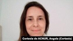 Ana Scattone, Oficial Sénior de Protecção do ACNUR, em Angola