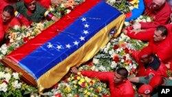 APTOPIX Venezuela Chavez