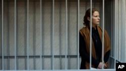 지난 달 30일 러시아 정부가 공개한 그린피스 회원 파울라 마르시엘 씨의 사진. 러시아 정부는 마르시엘 씨를 비롯해 최근 구속한 환경운동가 30명을 해적 혐의로 기소했다.