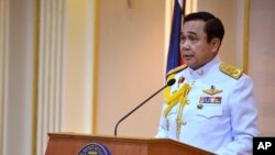 Thailand Army Chief Now Prime Minister
