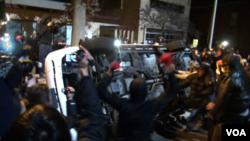 MICHAEL BROWN TIMELINE - Nov 25, 2014 Ferguson, rioting continues