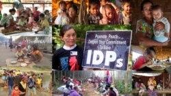 အမ်ိဳးသမီးနဲ႕ ကေလးေတြ အဓိကပါ၀င္တဲ့ ကခ်င္ IDP ေတြအေရး ရတက္မေအးစရာ