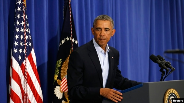 President Obama commenting on the beheading of American journalist James Foley.