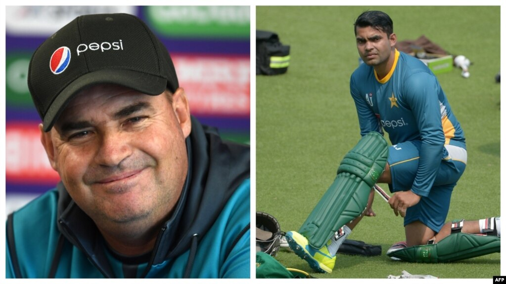 Why Mikey Arthur discusses Omar Akmal's failure?