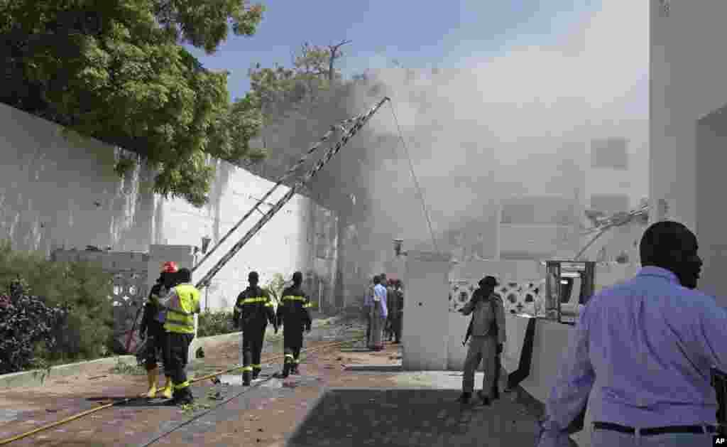حمله به هتلی درپايتخت سومالی، موگاديشو