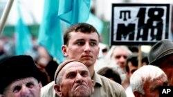 Har yili 18-may kuni qrim tatarlari 1944-yilgi mash'um quvg'in kunini xotirlaydi.