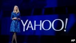 La CEO de Yahoo, Marissa Mayer, dice que venderá servicios no deseados del motor de búsqueda en internet.