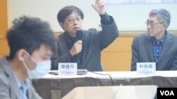 位于台北的华人民主学院董事主席曾建元