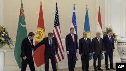 2015-yil 1-noyabr kuni Samarqandda C5+1 formatida o'tgan birinchi yig'in