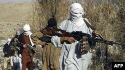 Chiến binh Taliban tại một địa điểm bí mật ở tỉnh Nangarhar, Afghanistan