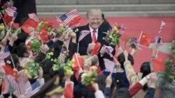 တရုတ္ေရာက္ သမၼတ Trump ေလသံေပ်ာ႔ေ့ပ်ာင္း