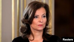 Valerie Trierweiler, pasangan Presiden Perancis Francois Hollande, yang telah bertindak sebagai ibu negara. (Foto: Dok)