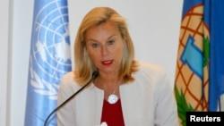 負責監督銷毀敘利亞化學武器的聯合國特別協調員凱格