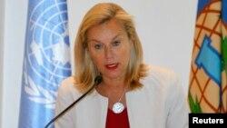 Kepala PBB Bidang Senjata Kimia (OPCW), Sigrid Kaag (foto: dok).