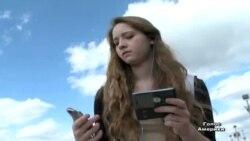 Мобільний у руці скорочує життя пішохода