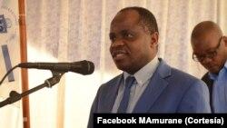 Mahamudo Amurane foi assassinado a tiro a 4 de Outubro de 2017