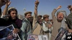지난해 파키스탄 이슬라마바드에서 미군의 무인기 공격에 항의하며 벌어진 시위. (자료사진)