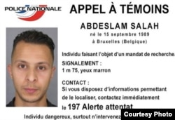 Police handout photo of 8th suspect they are searching for in connection with the Friday terror attacks that rocked Paris, France.