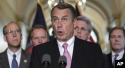 Le président de la Chambre des représentants, John Boehner