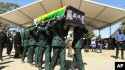 Funeral of the late former president Robert Mugabe at Kutama village, Zvimba communal lands, Mashonaland West province.