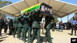 FILE: Funeral of the late former president Robert Mugabe at Kutama village, Zvimba communal lands, Mashonaland West province.