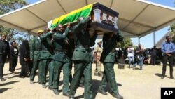 Funeral of the late former president Robert Mugabe at Kutama village, Zvimba communal lands, Mashonaland West province.