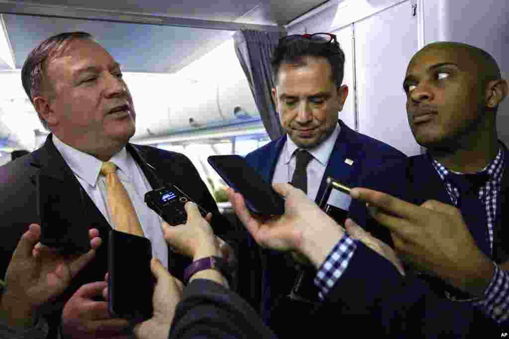 مایک پمپئو وزیر خارجه آمریکا سفر به هشت کشور را آغاز کرد که بخشی از مذاکرات او درباره فشار بر ایران خواهد بود.