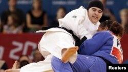 La judoka, de 16 años, fue derrotada en los primeros segundos del combate por su rival, una puertorriqueña.