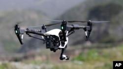 大疆公司出口到美國的一款名為Inspire 1的無人機