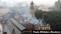 سال ۲۰۱۵ نیز موزه زبان پرتغالی در شهر سائو پائولو آتش گرفته بود
